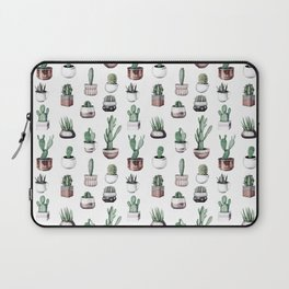 Cactus + Succulents Rose Gold Pattern by Nature Magick Laptop Sleeve