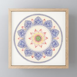 Carl Jung Design Framed Mini Art Print