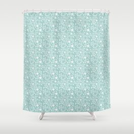 A Saunter on the Green Shower Curtain