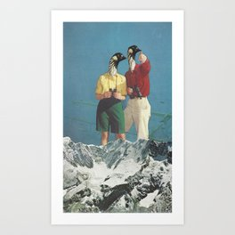 Jim and Christine Art Print
