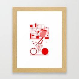 Bicycle I. Framed Art Print