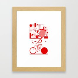 Bicycle I. Framed Art Print