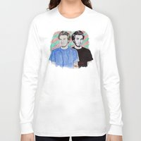 pewdiepie Long Sleeve T-shirts featuring Pewdiepie by Ethan Raney Jarma