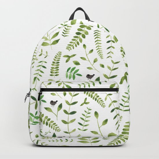 The Birds and the Leaves Backpack