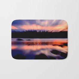 Sunset Burst Bath Mat