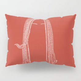 The girl with the dreadlocks Pillow Sham