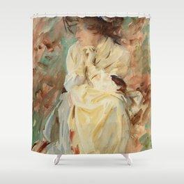 """John Singer Sargent """"Eliza"""" Shower Curtain"""
