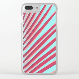 Tropical and colorful I Clear iPhone Case
