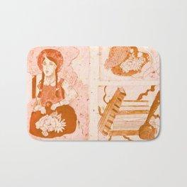 Anne of Green Gables Orange Bath Mat