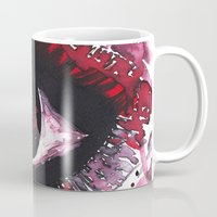 chaos Mugs featuring chaos by echoes
