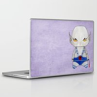thundercats Laptop & iPad Skins featuring A Boy - Panthro (Thundercats) by Christophe Chiozzi