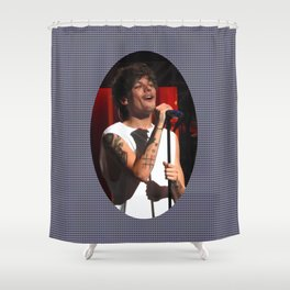 Smiley Louis Shower Curtain