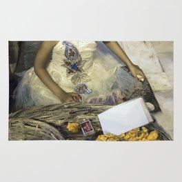 Varanasi little girl Rug