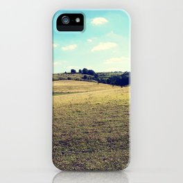 Landscape photograph. iPhone Case