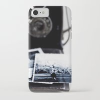 vintage camera iPhone & iPod Cases featuring camera by Ingrid Beddoes