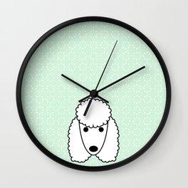 Pop Dog Poodle Wall Clock