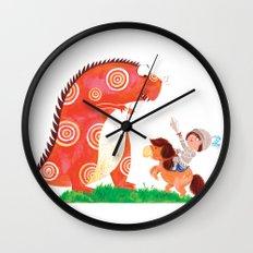 Knight vs Monster Wall Clock