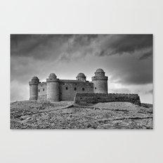 Calahorra Castle. Year 1509. Canvas Print
