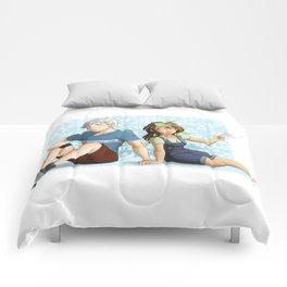 Rainbow flurry Comforters