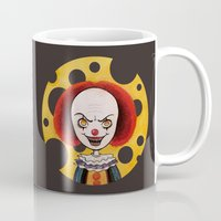 pennywise Mugs featuring Pennywise Cheese by ajd.abelita