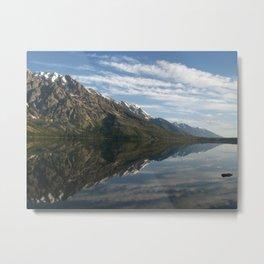Jenny Lake Metal Print