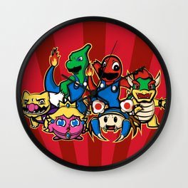 Mariomon Wall Clock