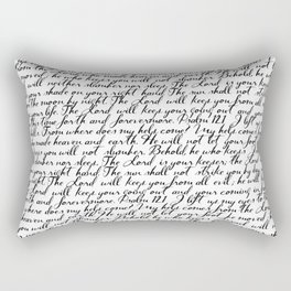 Psalm 121 Rectangular Pillow
