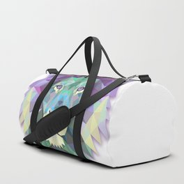 POLYGON LION HEAD Duffle Bag