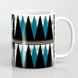 Blue Shapes Fanatasy Coffee Mug