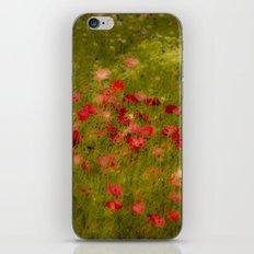 Deep Poppies iPhone & iPod Skin