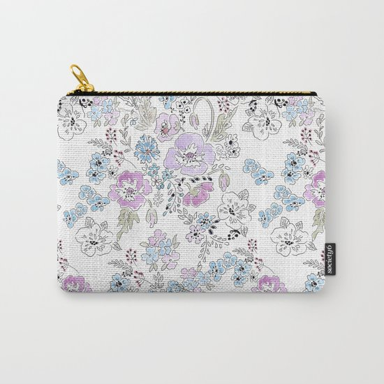 Watercolor . Spring .1 Carry-All Pouch