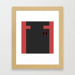 DP-test Framed Art Print