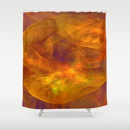 Abstract ligheffects -9- Shower Curtain