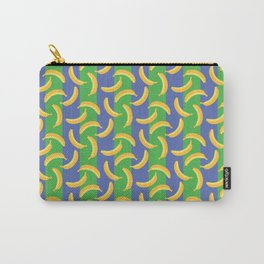 Glamorous Bananas (Green & blue) Carry-All Pouch
