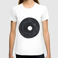 vinyl T-shirts featuring Vinyl by Stacy Innerst