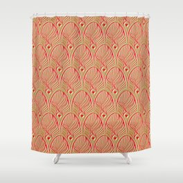 Art-Deco Print - The Gherkin – London Shower Curtain