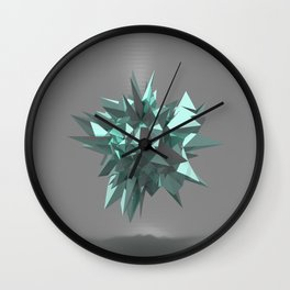Sphere of shards I Wall Clock