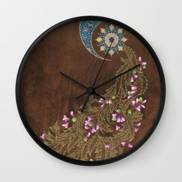 Cercis siliquastrum Wall Clock
