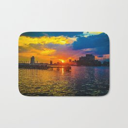 Baltimore Sunset Bath Mat
