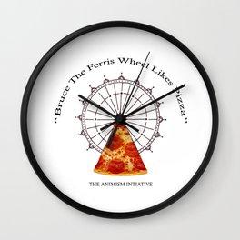 Bruce The Ferris Wheel Wall Clock