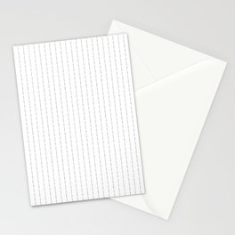 Fuck You - Pin Stripe - Conor McGregor Black Stationery Cards