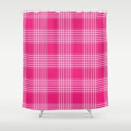 Pink Pattern Design Shower Curtain