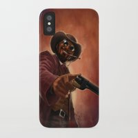 django iPhone & iPod Cases featuring Django by Andrea Mangiri