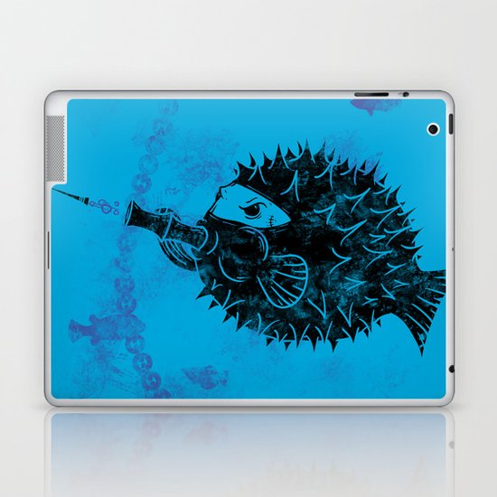 Blowgun Fish Laptop & iPad Skin