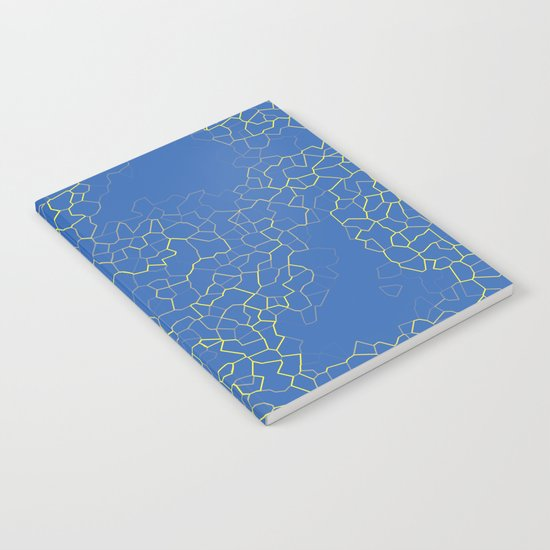 Crackle at the Poolside Notebook