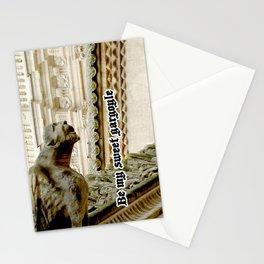 Be my sweet gargoyle Stationery Cards