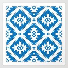 NavNa Blue Art Print