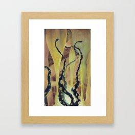 Tentacle Nest Framed Art Print