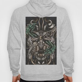 Moth and tiger Hoody