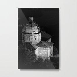 shot on film .. tuscan church Metal Print